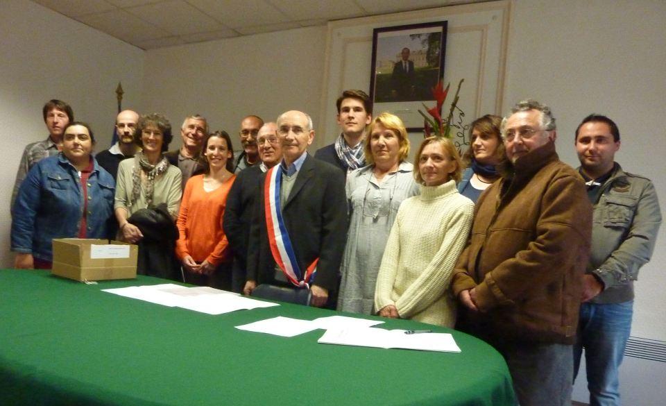 Marchi J.C. Maire d'Autignac29 03 2014