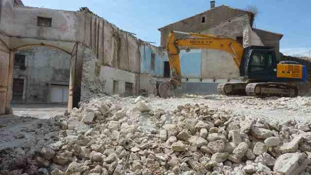 demolition entrée1P1180323