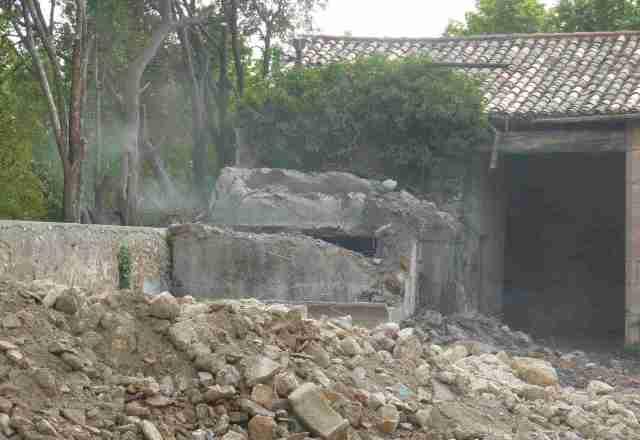 demolition reservoir vue ensemble
