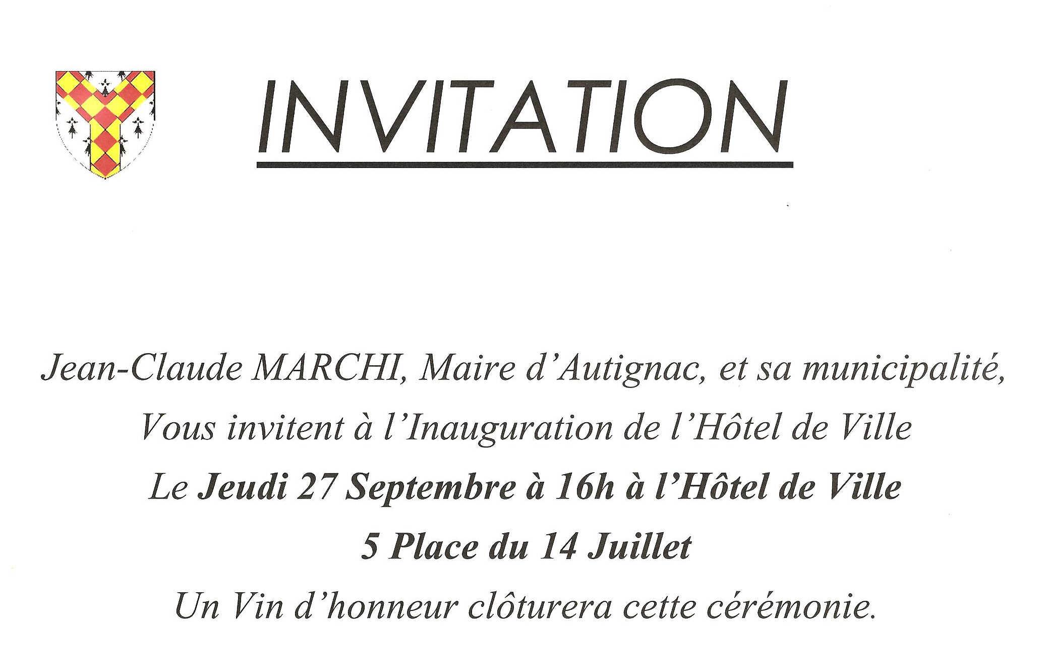 S Engager Pour Autignac Informations Sur Autignac 34480 Un Site